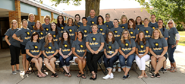 2019-20 Sand Lake Staff picture